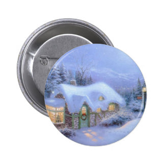 CHRISTMAS GIFT PERSONALIZE IT HOLIDAYS PINBACK BUTTON
