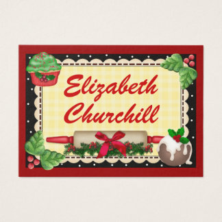 Christmas Gift Tag / Kitchen Gift Card - SRF