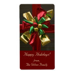 "Christmas Gift Tag Labels<br><div class=""desc"">Christmas gift tag labels. Just enter your information in the space provided.</div>"