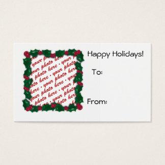 Christmas Gift Tag Photo Frame