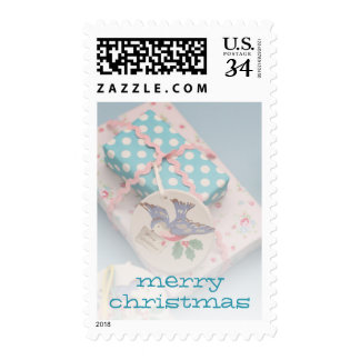 Christmas gift tag postage