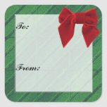 Christmas Gift Tag Sticker
