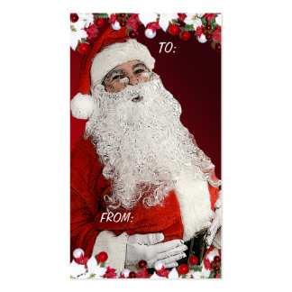 Christmas Gift Tags Business Card