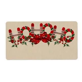 Christmas Gift tags - Large