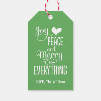 Christmas Gift Tags   Merry Everything