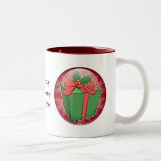 Christmas Gift Two-Tone Coffee Mug
