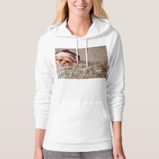 Christmas gift with Santa Claus Hoodie