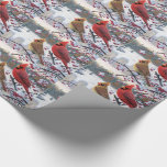 Christmas Gift Wrap/Cardinals Wrapping Paper