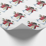 Christmas Gift Wrap/Snowman Wrapping Paper