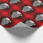 Christmas Gift Wrap/Vintage Santa Wrapping Paper