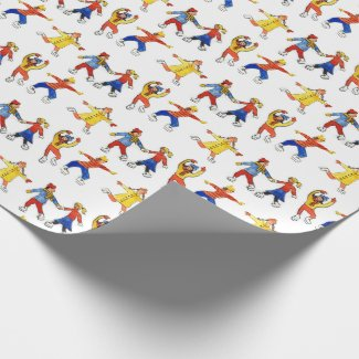 christmas gift wrapping wrapping paper