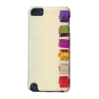 Christmas Gifts and Snowflakes iPod Touch 5G Cases