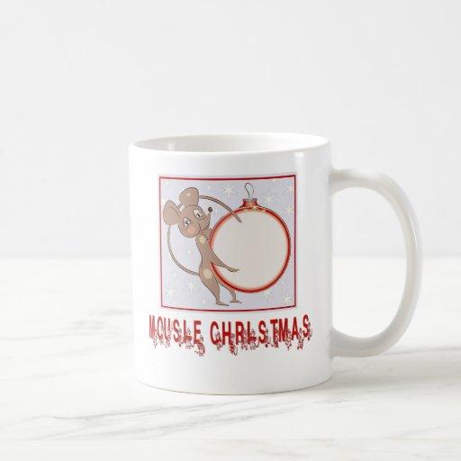 Christmas Gifts and T-shirts with Christmas Mouse Mugs