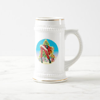 """""""Christmas Gifts"""" Beer Stein"""