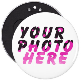 CHRISTMAS GIFTS CREATE YOUR OWN PHOTO PINBACK BUTTON