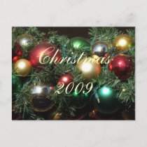 CHRISTMAS GIFTS HOLIDAY POSTCARD