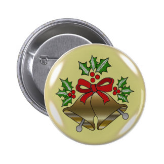 CHRISTMAS GIFTS PINBACK BUTTON
