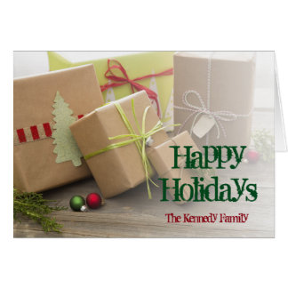 Christmas Gifts Wrapped Card