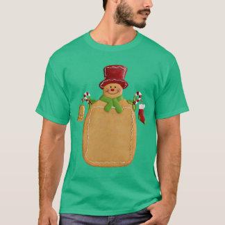 Christmas Ginger Bread Man T-Shirt