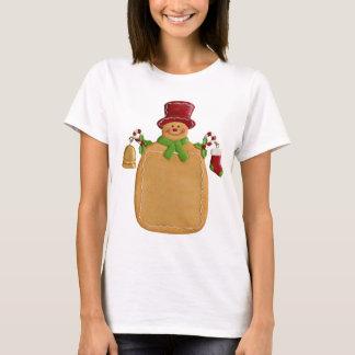 Christmas Ginger Bread Man Women's T Shirt