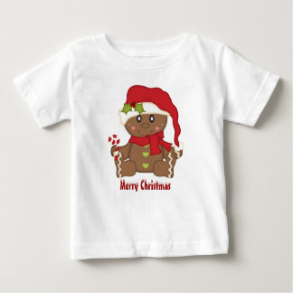 Christmas Gingerbread Baby T-Shirt
