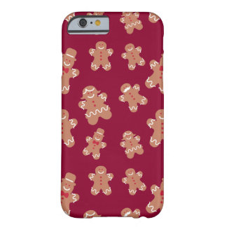 Christmas Gingerbread Barely There iPhone 6 Case