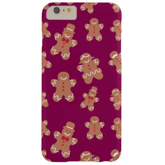 Christmas Gingerbread Barely There iPhone 6 Plus Case