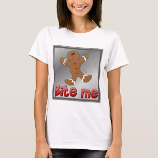 CHRISTMAS GINGERBREAD BITE ME COOKIE APARRELL T-Shirt