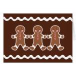 Christmas Gingerbread Card