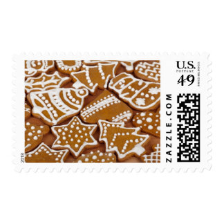 Christmas Gingerbread Cookie Novelty Postage