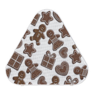 christmas gingerbread cookies bluetooth speaker