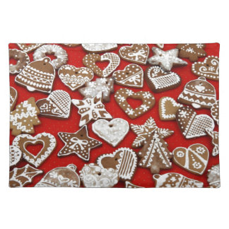 Christmas Gingerbread Cookies Placemat