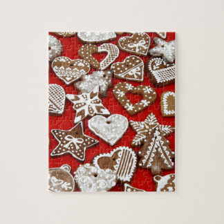 Christmas Gingerbread Cookies Jigsaw Puzzles