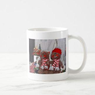 Christmas Gingerbread Couple Coffee Mug