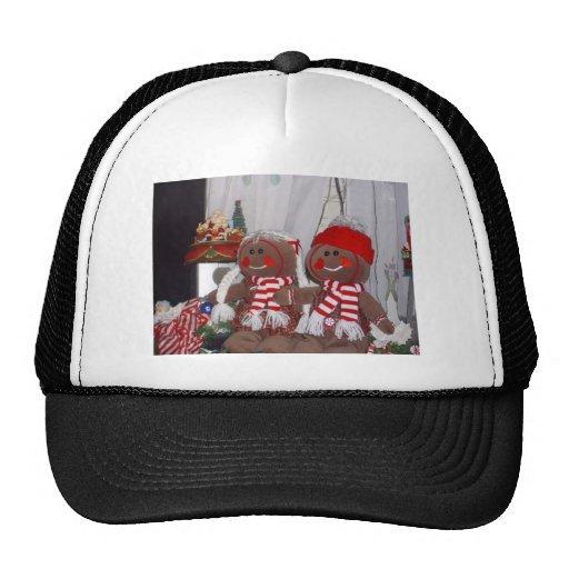 Christmas Gingerbread Couple Hats