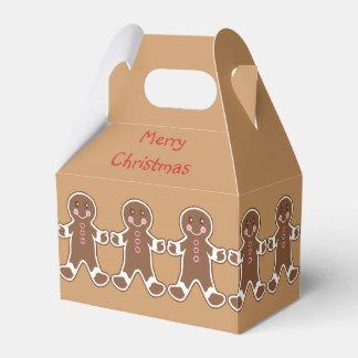 Christmas Gingerbread Favor Box