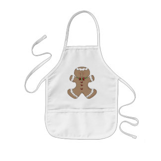 Christmas Gingerbread Holiday apron