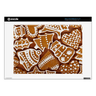 Christmas Gingerbread Holiday Cookies Decal For Acer Chromebook