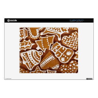 Christmas Gingerbread Holiday Cookies Laptop Decals