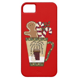Christmas Gingerbread Holiday Greetings iPhone SE/5/5s Case