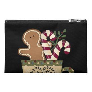 Christmas Gingerbread Holidays Travel Accessory Bag