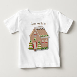 Christmas Gingerbread House Baby T-Shirt