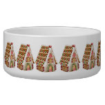 Christmas Gingerbread House Bowl