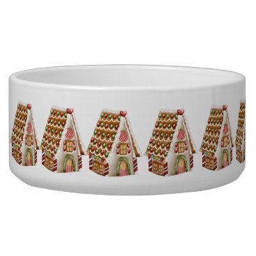 Christmas Themed Christmas Gingerbread House Bowl