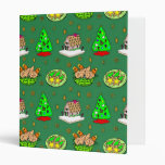 Christmas – Gingerbread Houses & Frosted Cookies 3 Ring Binders