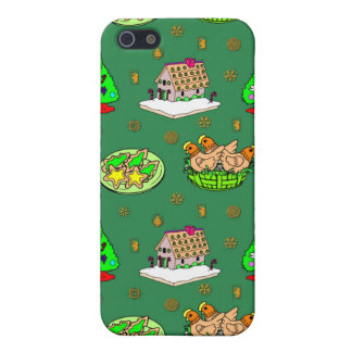 Christmas – Gingerbread Houses & Frosted Cookies iPhone SE/5/5s Cover