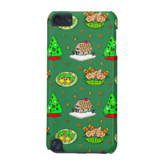 Christmas – Gingerbread Houses & Frosted Cookies iPod Touch 5G Cover