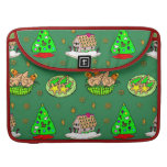 Christmas – Gingerbread Houses & Frosted Cookies Sleeves For MacBooks