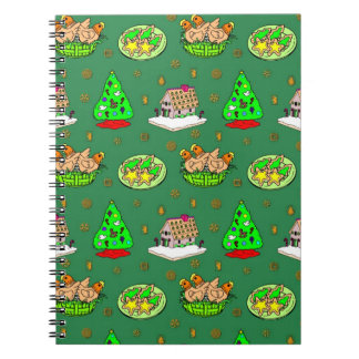 Christmas – Gingerbread Houses & Frosted Cookies Note Book