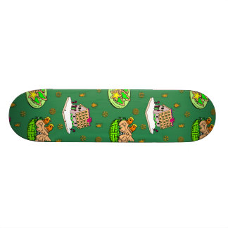 Christmas – Gingerbread Houses & Frosted Cookies Skate Decks